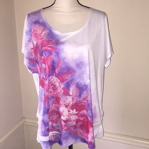 Lovely Floral Top by Avenue